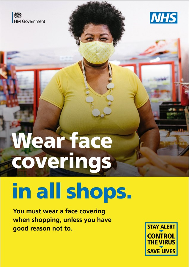 Shop Face covering